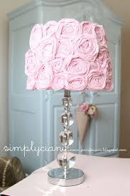 Shabby Chic Bedroom Lamps Do It Yourself Shabby Chic Lampshade I Have This Lamp In My