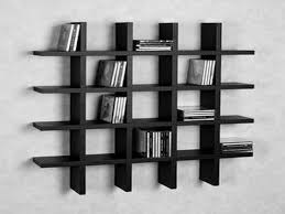 cabinet storage alluring black bookcase wood 4 shelf 9 cube shelves wall mounted type modern bookshelf file storage wall