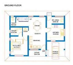 North facing house plans bhk   GharExpert North facing house     BHK Floor Plan North facing house plans bhk