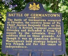 「the battle of germantown」の画像検索結果