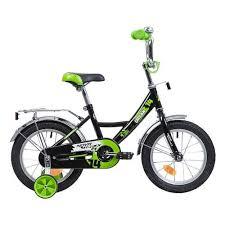 Детский <b>Велосипед Novatrack 14 URBAN</b>, чёрный — купить в ...