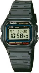 <b>Часы мужские CASIO W</b>-<b>59</b>-<b>1</b>: полимер — купить в интернет ...