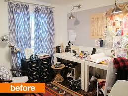 before after ambers 2 for 1 home office makeover apartment therapy apartment home office