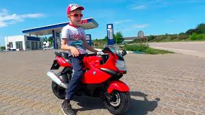 Little <b>Boy</b> Ride on BMW Electric Mini <b>Bike</b> For <b>Kids</b> - YouTube