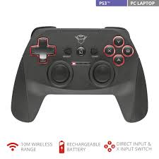 <b>Trust</b> Gaming <b>GXT 545 Wireless</b> Gamepad for PC-Black - Buy ...