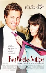 two weeks notice dvd release date movie poster