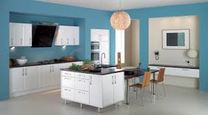 painted blue kitchen cabinets house: interior color design kitchen basic on home designer simple inside house combinations