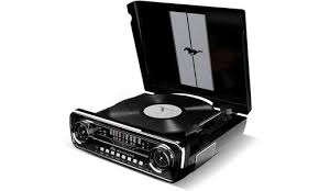 <b>Виниловый проигрыватель ION</b> Audio Mustang LP (Цвет: Black)