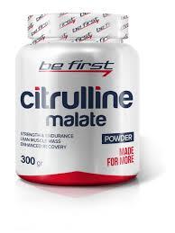 Аминокислоты Citrulline Malate Powder, <b>300</b> гр be first 5916122 в ...