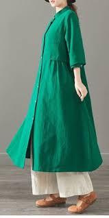 <b>Spring Loose Long</b> Cotton Shirt Women Casual Blouse 6120 ...