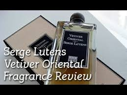 <b>Serge Lutens Vetiver Oriental</b> Fragrance Review - YouTube