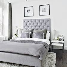 pictures simple bedroom: an upholstered bed and luxurious soft furnishings give this simple bedroom an air of opulence