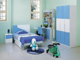 interesting kids room bedroom design ideas with soft blue wall winsome children furniture in white and arranging along single blue kids furniture wall
