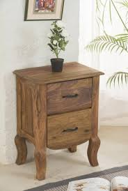 solid wood tania grand bedside table buy zina solidwood side table
