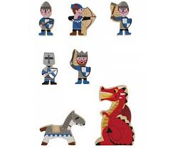 <b>Деревянная игрушка Janod</b> Набор фигурок Маленькие истории ...