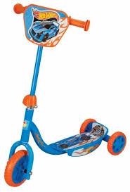 Городской <b>самокат</b> 1 TOY Т57645 <b>Hot wheels</b> — купить по ...