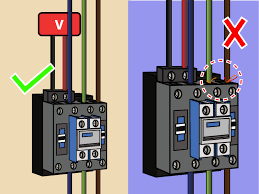 how to wire a contactor 8 steps (with pictures) wikihow 240V Motor with Thermal Protection 240v Wiring Diagram Motor Starters 240v Wiring Diagram Motor Starters #66