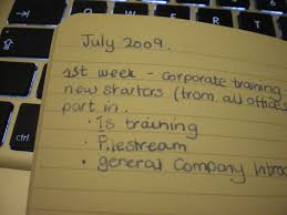 how to keep a career log notes in a book many friends who keep a career log of sorts tend to do it in one notebook i use one notebook per job or if you are further along in your career path