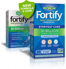<b>Fortify Probiotics</b> from Nature's Way