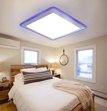 free shipping flush mount led modern ceiling lights living roombedroomkitchenbathroomofficekids roomacrylic metal plating ceiling lighting living room