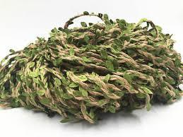 5M Artificial Ivy Vine Leaf Garland <b>Headband Plants</b> Fake Foliage ...