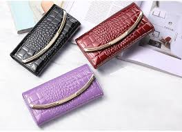 Gift Coin Large Capacity Genuine <b>Leather Women's</b> Wallet <b>Fashion</b> ...
