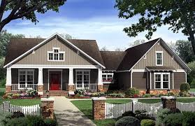 House Plan at FamilyHomePlans comBungalow Country Craftsman House Plan Elevation