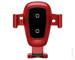 <b>Держатель автомобильный</b> + ЗУ Baseus Metal Wireless Charger ...