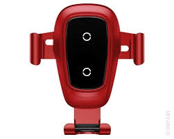 <b>Держатель</b> автомобильный + ЗУ <b>Baseus Metal</b> Wireless Charger ...