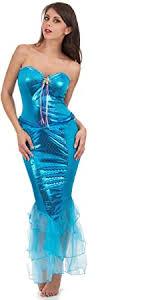 <b>Elegant Mermaid</b> Ladies Costume blue, s, blue: Amazon.de: Spielzeug