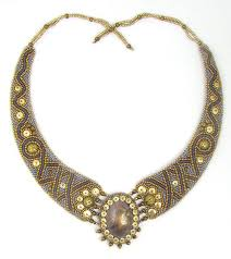 Viking <b>Bead</b> Embroidery Necklace Instant Download Pattern by Ann ...