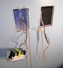 code bathroom wiring: basement bathroom wiring line side wires and fishing cable