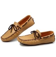 <b>Spring Autumn Genuine Leather</b> Shoe Man Moccasin Stitching Style ...