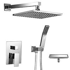 <b>Shower</b> Faucet - Contemporary / Art Deco / <b>Retro</b> / Modern Chrome ...