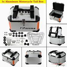 1x Universal <b>Motorcycle</b> Aluminum Top Case Mounting Rack ...