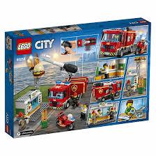 <b>Конструктор LEGO City Fire</b> 60214 Пожар в бургер-кафе - купить ...