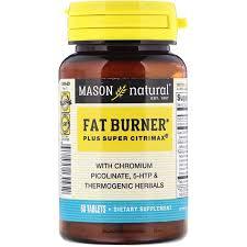 Mason Natural <b>Super Fat Burner Plus</b> Citrimax, Help Curbs Appetite ...