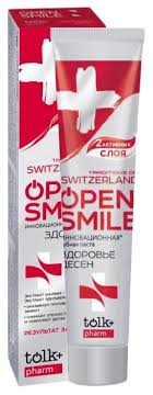 <b>Зубная паста</b> Tolk+ <b>Open</b> smile Traditions of Switzerland — купить ...