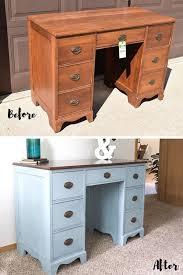 diy furniture restoration ideas. Dusky Blue Desk RedoDesk MakeoverFurniture MakeoverDiy FurniturePainted FurnitureBlue DesksFurniture RestorationDesk IdeasRefurbished Diy Furniture Restoration Ideas