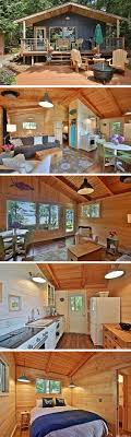 images about Small Spaces That Live Large on Pinterest    A sq ft cabin in Langley  Washington This is such great inspiration for a future cabin build  It   be small but has a fantastic use of space