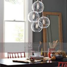 american cluster glass pendant transparent round ball glass personalized fashion vintage pendant light inpendant lights ball pendant lighting