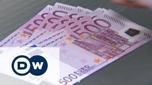 Купюру в 500 евро изымут из оборота - YouTube