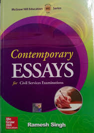 contemporary essays by ramesh singh flipkart essay topics contemporary essays for civil services examinations 1st edition