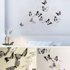 <b>3D</b>-<b>бабочки DIY</b> Домашний декор стены наклейки украшения ...
