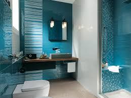 bathroom ideas blue brown