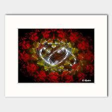 <b>Eternal Love abstract</b> art print | NorthernArtMarket.com
