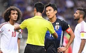 「日本 UAE 誤審」の画像検索結果