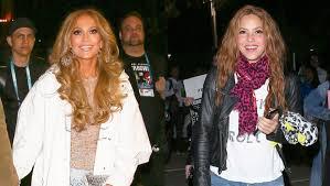 Jennifer Lopez & <b>Shakira Rock</b> Ripped Jeans After Amazing ...