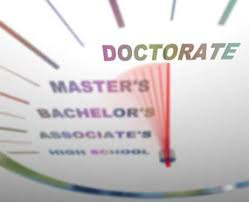 The steps to a doctoral degree Distance Learning College Guide