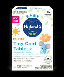 Hyland's Baby Daytime Tiny Cold Tablets, 125 ct - King Soopers
